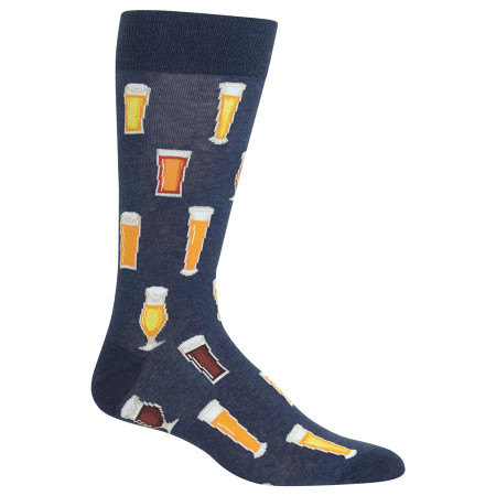 mens beer crew socks