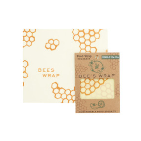 "bees wrap single small, 7"" x 8"" (17,5 x 20 cm)"