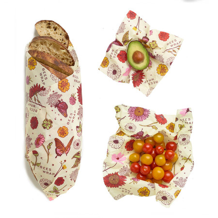 bees wrap meadow magic, plant based, reusable