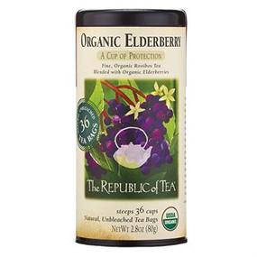 organic elderberry herbal tea