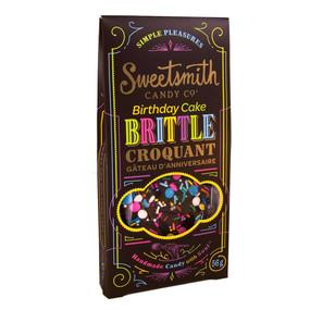 chocolate birthday cake brittle