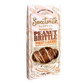 pumpkin pie peanut brittle