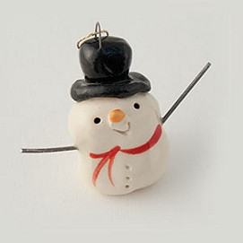 frosty ornament