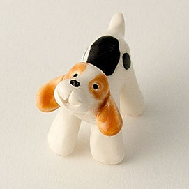beagle miniature sculpture