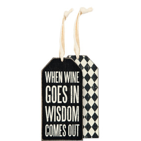 when wine goes in bottle tag