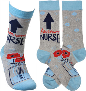 awesome nurse socks