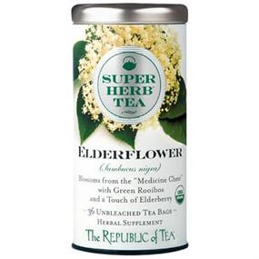 organic elderflower superherb tea