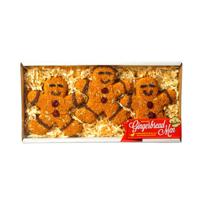 gingerbread men - 3 pack, bird seed, gift