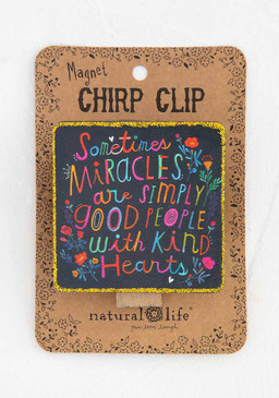 miracles chirp magnet clip