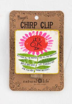it's ok chirp magnet clip