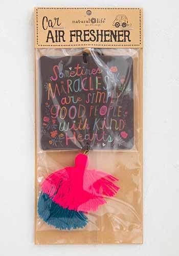 miracles air freshener