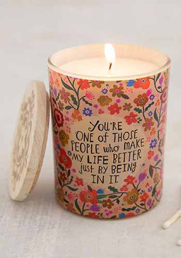 make my life better soy candle