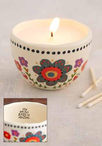 amazing secret message candle