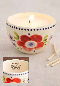 you make the world better secret message candle