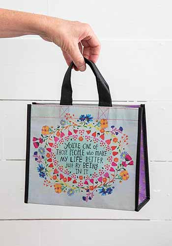 make life better medium happy bag