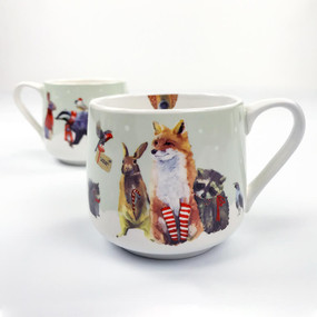 holiday collection - christmas critter mug
