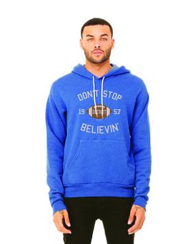 don't stop believin' hoodie, detroit lions