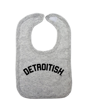 detroitish bib, grey