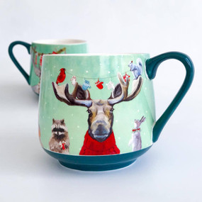 holiday collection - wondrous animal mug