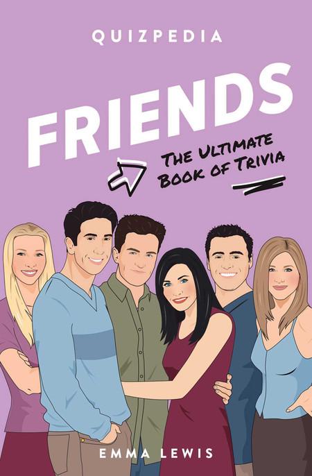 friends quizpedia, trivia, book