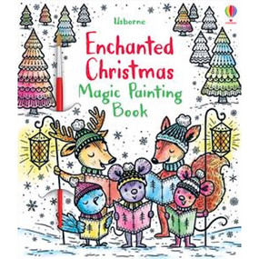 enchanted christmas magic painting book, children's book