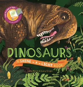 dinosaurs shine a light, children's book