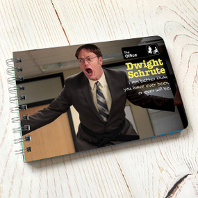 dwight schrute quotes book, 48 pages