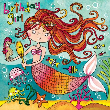 mermaid jigsaw puzzle birthday