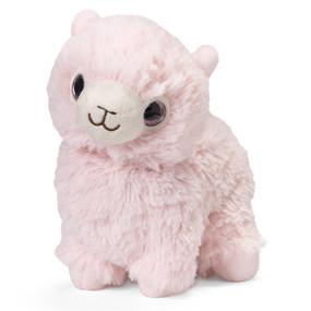 junior warmies, pink llama