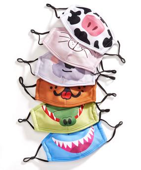 reusable animal face masks for kids