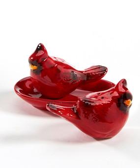 cardinal salt and pepper set