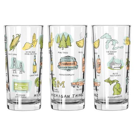 michigan things glass, Frankenmuth, Great Lakes, Mackinac Bridge