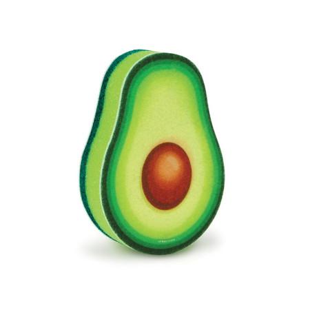 just ripe avocado sponge