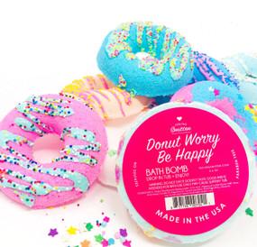 assorted donut bath bombs