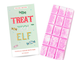 treat 'yo elf rainbow bath bar