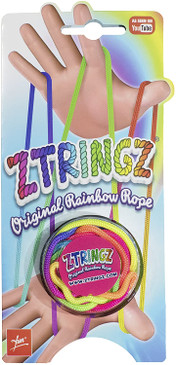 ztringz rainbow rope, retro toy