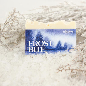 frost bite holiday soap
