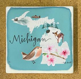 state symbols michigan coaster