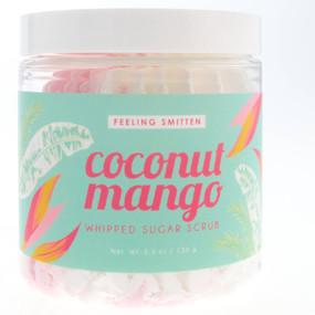 coconut mango whipped sugar scrub
