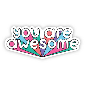 you're awesome sticker
