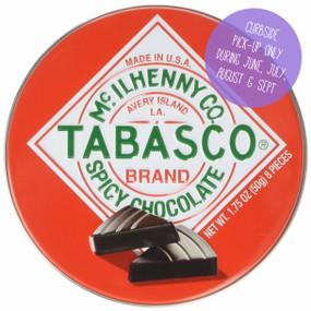 tabasco spicy chocolate tin