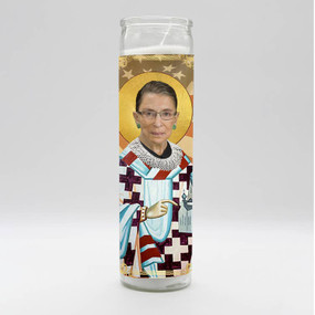 pop culture prayer candle