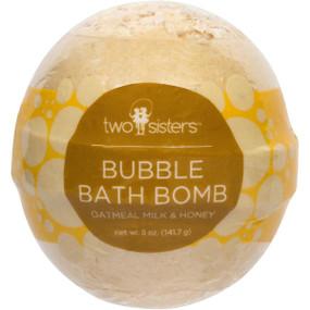 oatmeal milk & honey bubble bath bomb