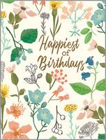 botanica birthday card