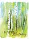 birch grove birthday card