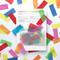 confetti prescription card congratulations, celebration