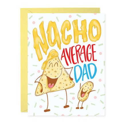 nacho average dad father's day