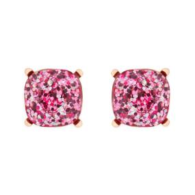 glitter epoxy stud earrings