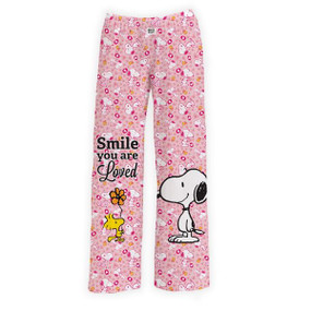 you are loved snoopy lounge pants