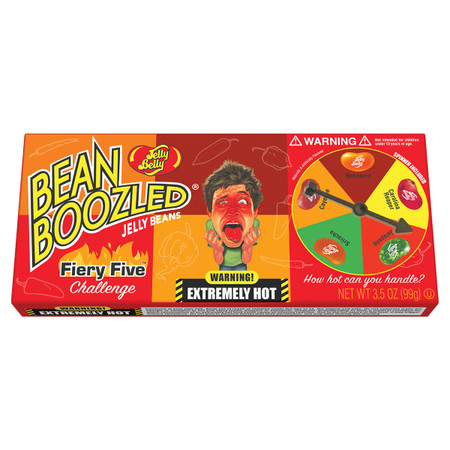 bean boozled fiery five jelly beans